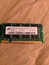 128MB Micron, DDR, 266MHZ, CL2.5 PC2100S LAPTOP Memory