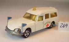 Majorette 1/65 Nr. 206 Citroen DS Ambulance Krankenwagen Nr. 2 #269