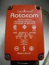 ALLEN-BRADLEY GUARDMASTER ROTACAM HS-2-F4 03098 HINGED SAFETY SWITCH 1NO 2NC