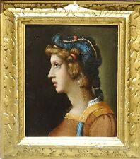 16th Century Italian Renaissance Old Master Lady Portrait Antique Oil Painting