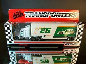 Ken Schrader #25 Generic Kodiak 1991 1:87 Racing Team Transporter Matchbox