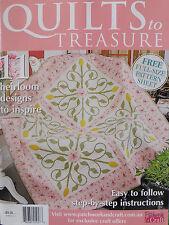 Quilts To Treasure Magazine - 20% Bulk Magazine Discount