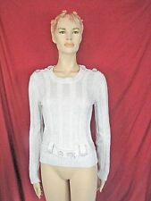 NWT Les Copains TREND Luxury Knitted Top sz 42 Made in Italy