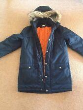 boys navy parker jacket H&M size 152 cm
