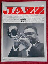 Rivista MUSICA JAZZ 8-9/1981 Cat Anderson Art Pepper Daniel Humair Liguori No cd