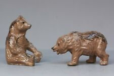 BRITAINS LEAD ZOO ANIMALS ** #936 BROWN BEAR CUBS (Assorted) ~ TAUPE Colour...!!