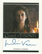 2015 Game of Thrones Season 4 Indira Varma as Ellaria Sand Autograph Limited