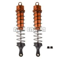 ORANGE 142mm Adjustable Rear Shock Absorber RC 1:8 Car HSP HPI Traxxas 81002N