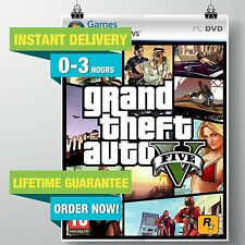 Grand Theft Auto V (GTA 5) Rockstar PC [LICENSED KEY] (NO DISC)