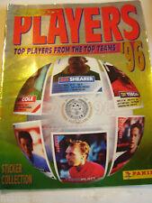 RARE PANINI FOOTBALL TOP SUPER PLAYERS STICKER ALBUM BOOK UNUSED 1996