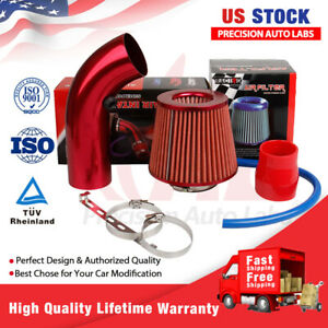 Cold Air Intake Filter Pipe Induction Kit Car Accessories Power Flow Hose System