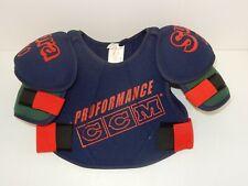 Ccm Supra Bsp210M Powerline Hockey Shoulder Pads ~ Blue/Green Size: Boys Medium