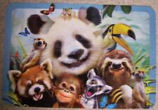 Dinner Placemat Howard Robinson Jungle Selfie NEW 3D Lenticular image shifting