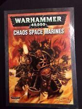 Warhammer 40K Chaos Space Marines Codex (2007) OOP Games Workshop GW