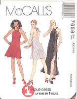 McCall's 7659 Misses' Dress in Two Lengths   Sewing Pattern
