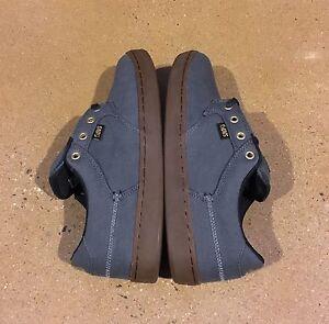 DVS Quentin Dark Shadow Canvas Size 7 US Men's BMX DC Skate Shoes Sneakers