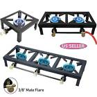Portable Propane Cooker Burner Stove Gas Outdoor Cooking Camping Stand BBQ Grill photo
