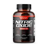 Nitric Oxide Booster Supplement 1500mg - Pre Workout, Muscle Growth - 60 Caps