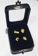 "GLASS TOP GEM BOX 2""x2-7/16""- Storage/Display gold nuggets,gemstones,minerals"