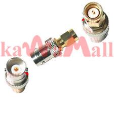 Coax Connector BNC-F Jack to SMA-M Plug Antenna Adapter