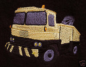 Scammell Recovery Truck embroidered on Polo Shirt