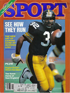 1983 (Nov.) Sport Magazine, Football, Franco Harris, Pittsburgh Steelers ~ VG