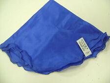 rond de soie 100 % diamètre 42 cm coloris bleu roy finition bleu roy