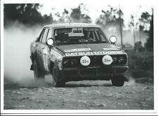 Datsun 160J East Africa Safari 1980 Mehta Doughty Original Press Photograph