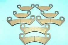 Fit John Deere Xuv825E Xuv855E Xuv855M Xuv825M S4 Gator 2 Front Rear Brake Pads