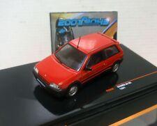 Citroen hacha GTI 1991 coche a escala rojo 1 43 Ixo Models