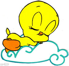 """2"""" Looney tunes babies baby tweety peel & stick wall border cut out character"""