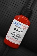 DUCATI 473.101 DUCATI RED PAINT TOUCH UP KIT 30ML ROSSO RED MOTORBIKE BIKE