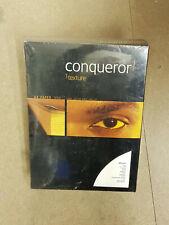 CONQUEROR  OYSTER  WOVE CARD  300GSM 80 SHEETS  A4 VAT £12.50