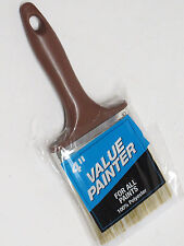 "4"" Value Painter for all paints ;All purpose paint brush; 100% poly. ; Brand NEW"