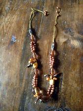 """4 colliers """" fantaisie  """" 1970/1980 .objet vintage . Bijoux fantaisie 4 Colliers"""