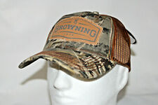 buy popular aca32 ea458 Browning Buckmark Logo Atlus Realtree Max-5 Snapback Trucker Hat in Camo  OSFA