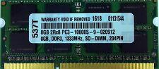 8GB RAM MEMORY FOR HP COMPAQ  EQUIV PART# 634091-001 QP013AA