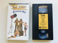 ZZ TOP GREATEST HITS VHS Music Videos Billy Gibbons Dusty Hill Frank Beard