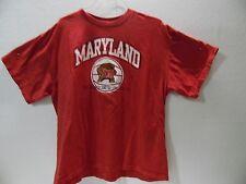 "NCAA MARYLAND TERRAPINS BASKETBALL T-SHIRT ""TERRAPINS LOGO"" COLLECTIBLE TEE (XL)"