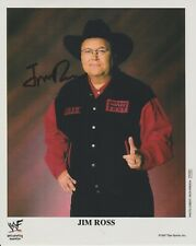 Jim Ross authentic signed autographed 8x10 photograph holo COA