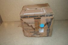 """^ Stake Chaser/Line Mark Flags Blue 6"""" - New (E1)"""