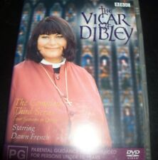 The Vicar Of Dibley Third Series 3 BBC DVD (Australia Region 4) DVD - NEW