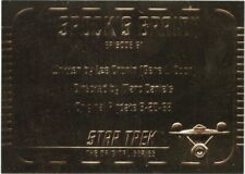 Star Trek SkyBox TOS Season Three Gold Card YOU PICK!