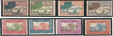 New Caledonia 1928, Local Motives, Palms. 8 stamps. Mint Hinged