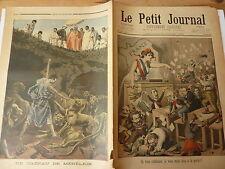 PETIT JOURNAL- 1898- N° 399 indiscipline députés / MENELICK 2
