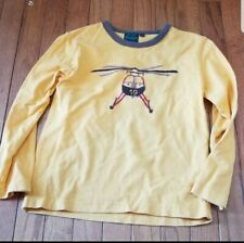Mini Boden Boys helicopter long sleeve top, size 7-8