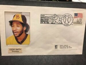 Sports Baseball 1987 Ozzie Smith SS HOF San Diego Padres M068