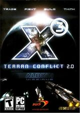 Brand New Computer PC Video Game: X3 TERRAN CONFLICT 2.0