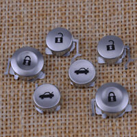 6x Remote Key Pad FOB 3 Buttons Replacement fit for Honda Civic CRV Accord Jazz