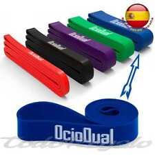 Banda Elastica de Resistencia para Fitness Entrenamiento Body Crossfit 65mm Azul